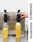 bottling factory   beer... | Shutterstock . vector #1378802402