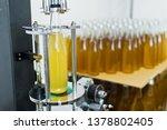 bottling factory   beer... | Shutterstock . vector #1378802405
