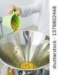 work sleeps peanut  production... | Shutterstock . vector #1378802468