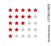 5 star rating icon vector...