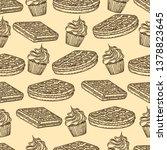 seamless pattern of belgian...   Shutterstock .eps vector #1378823645