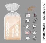 Vertical Bag Mockup With Bakery ...