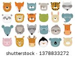 vector collection of cute...   Shutterstock .eps vector #1378833272