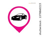 car icon.transportation icon... | Shutterstock .eps vector #1378860215