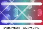 futuristic background with... | Shutterstock .eps vector #1378959242