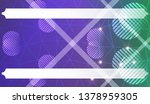 futuristic background with... | Shutterstock .eps vector #1378959305