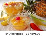 Fruit Cocktail And Pineapple
