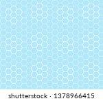 seamless pattern of rhombuses... | Shutterstock .eps vector #1378966415