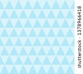 seamless pattern of triangles.... | Shutterstock .eps vector #1378966418