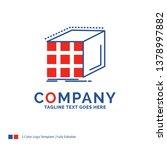 company name logo design for... | Shutterstock .eps vector #1378997882