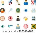 color flat icon set   holy... | Shutterstock .eps vector #1379016782