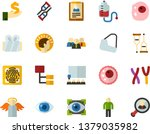 color flat icon set   angel... | Shutterstock .eps vector #1379035982