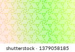 geometric pattern with blur... | Shutterstock .eps vector #1379058185