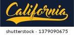 california slogan collage...   Shutterstock .eps vector #1379090675