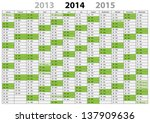 calendar 2014   german langauage