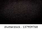 black background of fibre... | Shutterstock . vector #137909768