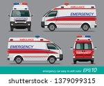 vector eps10   white emergency... | Shutterstock .eps vector #1379099315