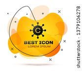 black copywriting network icon... | Shutterstock .eps vector #1379106278