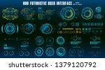 hud elements mega set pack.... | Shutterstock .eps vector #1379120792