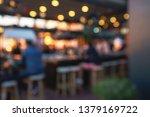 blurred background of customer... | Shutterstock . vector #1379169722