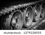 detail shot with old tank... | Shutterstock . vector #1379228555