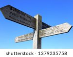Wooden Signpost In Yorkshire...