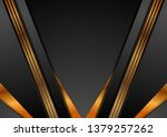 black abstract corporate... | Shutterstock .eps vector #1379257262