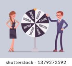 wheel selecting random changes... | Shutterstock .eps vector #1379272592