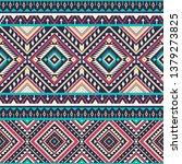 tribal striped seamless pattern.... | Shutterstock .eps vector #1379273825