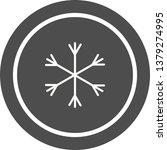snow icon design  | Shutterstock .eps vector #1379274995