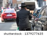 a jewish man in traditional... | Shutterstock . vector #1379277635