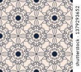 seamless pattern with abstract... | Shutterstock .eps vector #1379293652