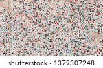 vintage tiled wall texture.flat ... | Shutterstock . vector #1379307248