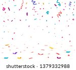 confetti isolated on white... | Shutterstock .eps vector #1379332988