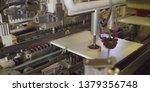 furniture factory machine.... | Shutterstock . vector #1379356748