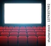 creative illustration of movie... | Shutterstock . vector #1379357492
