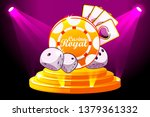 casino royal banner with...