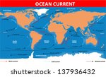 The Ocean Currents. Map