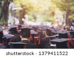 group of graduates during... | Shutterstock . vector #1379411522