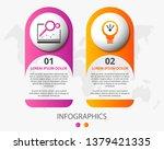 vector infographic 3d template... | Shutterstock .eps vector #1379421335