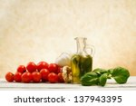 traditional italian food | Shutterstock . vector #137943395