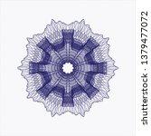 blue passport money style...   Shutterstock .eps vector #1379477072