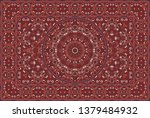 vintage arabic pattern. persian ...   Shutterstock .eps vector #1379484932