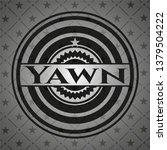 yawn black emblem. vintage.   Shutterstock .eps vector #1379504222