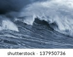 Detailed Atlantic Stormy Big...