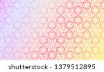 light pastel color gradient...   Shutterstock .eps vector #1379512895