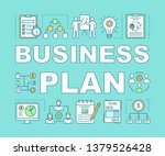 business plan word concepts...