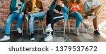 millennials lifestyle. group of ... | Shutterstock . vector #1379537672