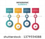 abstract colorful business... | Shutterstock .eps vector #1379554088