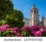 a beautiful view of torre del... | Shutterstock . vector #1379555768